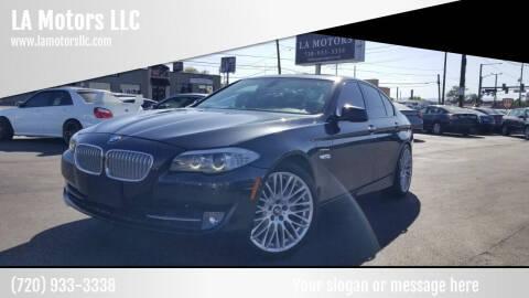 2011 BMW 5 Series for sale at LA Motors LLC in Denver CO