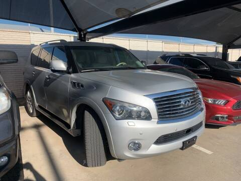 2014 Infiniti QX80 for sale at Excellence Auto Direct in Euless TX