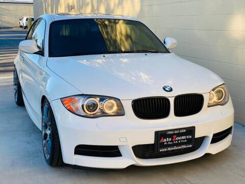 2011 BMW 1 Series for sale at Auto Zoom 916 Rancho Cordova in Rancho Cordova CA