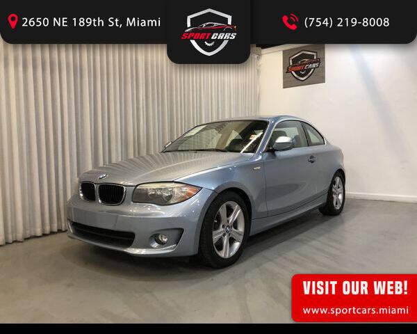 2012 BMW 1 Series for sale in Miami, FL