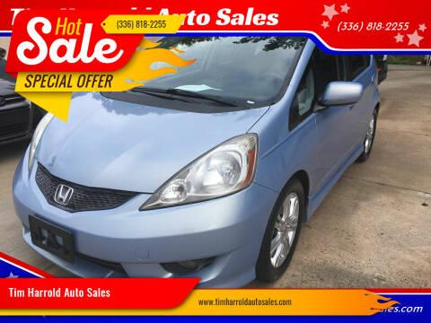 2009 Honda Fit for sale at Tim Harrold Auto Sales in Wilkesboro NC