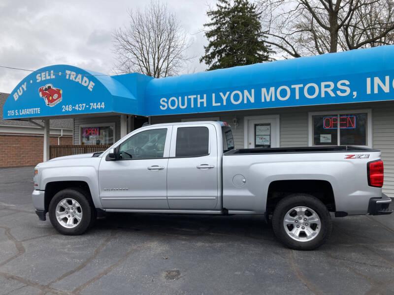 2019 Chevrolet Silverado 1500 LD for sale at South Lyon Motors INC in South Lyon MI