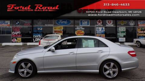 2010 Mercedes-Benz E-Class for sale at Ford Road Motor Sales in Dearborn MI