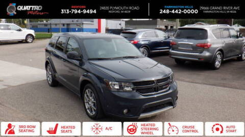2017 Dodge Journey for sale at Quattro Motors 2 - 1 in Redford MI