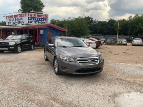 2011 Ford Taurus for sale at Twin Motors in Austin TX