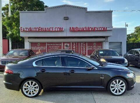 2011 Jaguar XF for sale at Eazy Auto Finance in Dallas TX