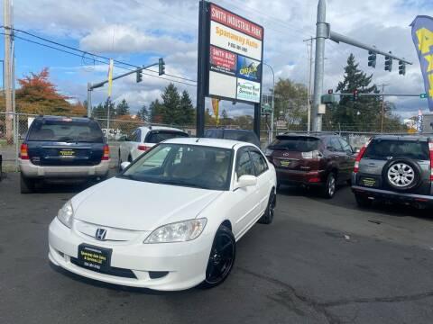 2005 Honda Civic for sale at Tacoma Autos LLC in Tacoma WA