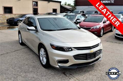 2016 Chevrolet Malibu for sale at LAKESIDE MOTORS, INC. in Sachse TX