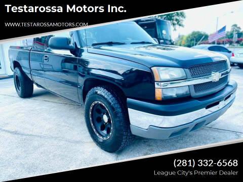 2005 Chevrolet Silverado 1500 for sale at Testarossa Motors Inc. in League City TX