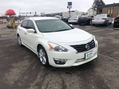 2015 Nissan Altima for sale at Carney Auto Sales in Austin MN