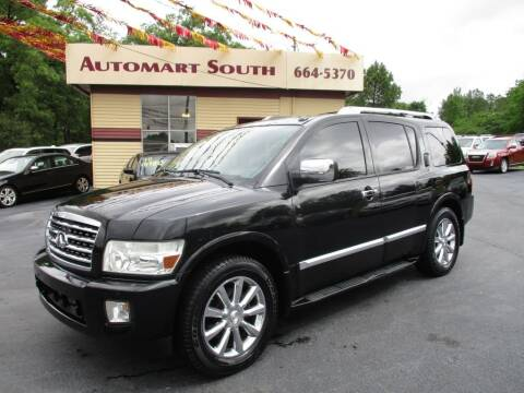 2009 Infiniti QX56 for sale at Automart South in Alabaster AL