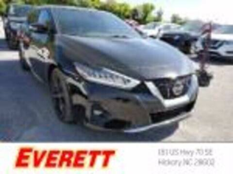 2020 Nissan Maxima for sale at Everett Chevrolet Buick GMC in Hickory NC