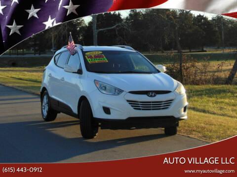 2012 Hyundai Tucson for sale at AUTO VILLAGE LLC in Lebanon TN