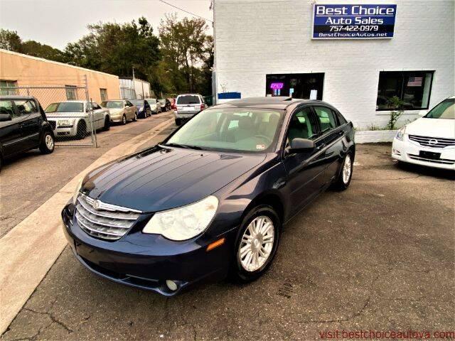 2008 Chrysler Sebring for sale at Best Choice Auto Sales in Virginia Beach VA