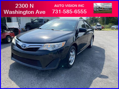 2012 Toyota Camry Hybrid for sale at Auto Vision Inc. in Brownsville TN