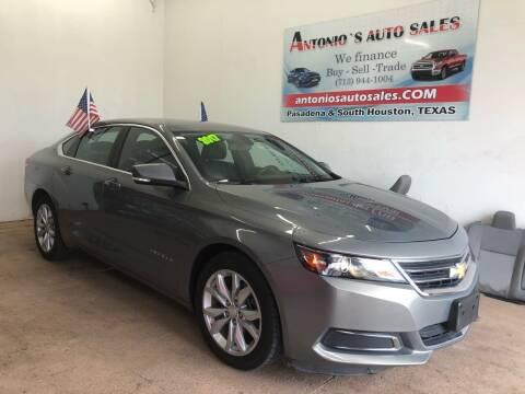2017 Chevrolet Impala for sale at Antonio's Auto Sales - Antonio`s  2206 in Pasadena TX