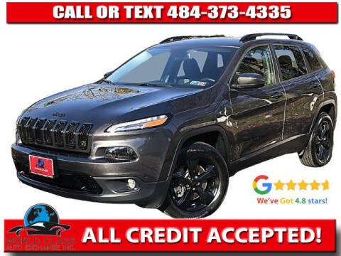 2018 Jeep Cherokee for sale at World Class Auto Exchange in Lansdowne PA