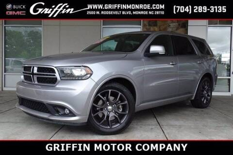 2017 Dodge Durango for sale at Griffin Buick GMC in Monroe NC