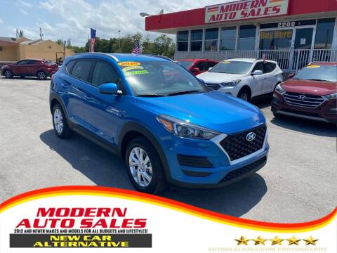 2020 Hyundai Tucson for sale at Modern Auto Sales in Hollywood FL