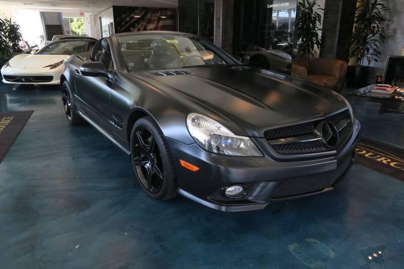 2011 Mercedes-Benz SL-Class for sale at OC Autosource in Costa Mesa CA