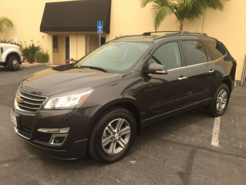 2015 Chevrolet Traverse for sale at MANGIONE MOTORS ORANGE COUNTY in Costa Mesa CA