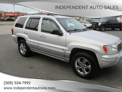 2004 Jeep Grand Cherokee for sale at Independent Auto Sales in Spokane Valley WA
