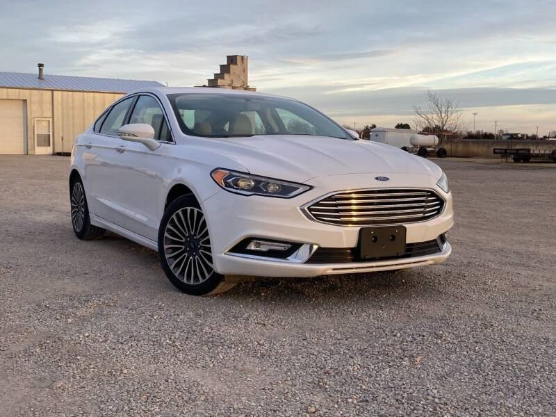 2017 Ford Fusion for sale at Double TT Auto in Montezuma KS
