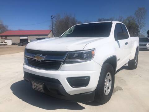 2015 Chevrolet Colorado for sale at Wolff Auto Sales in Clarksville TN