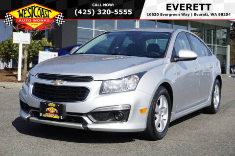 2016 Chevrolet Cruze Limited for sale at West Coast Auto Works in Edmonds WA