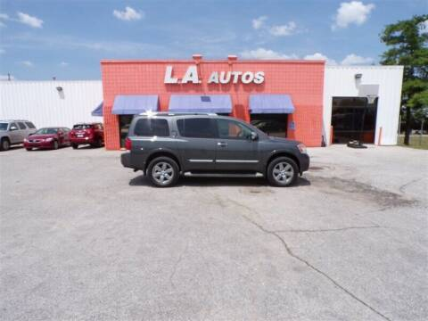 2012 Nissan Armada for sale at L A AUTOS in Omaha NE