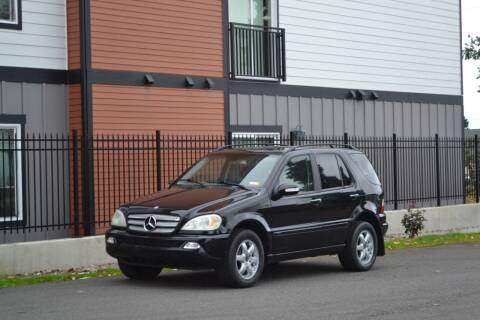 2003 Mercedes-Benz M-Class for sale at Skyline Motors Auto Sales in Tacoma WA