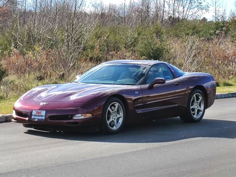 2003 Chevrolet Corvette for sale at R & R AUTO SALES in Poughkeepsie NY