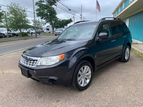 2011 Subaru Forester for sale at Mutual Motors in Hyannis MA