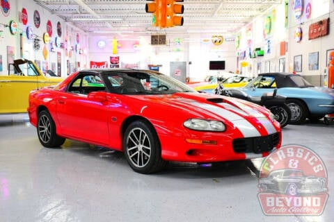 2002 Chevrolet Camaro for sale at Classics and Beyond Auto Gallery in Wayne MI