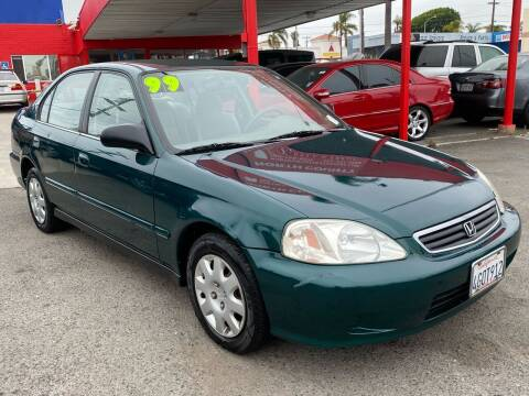 1999 Honda Civic for sale at North County Auto in Oceanside CA