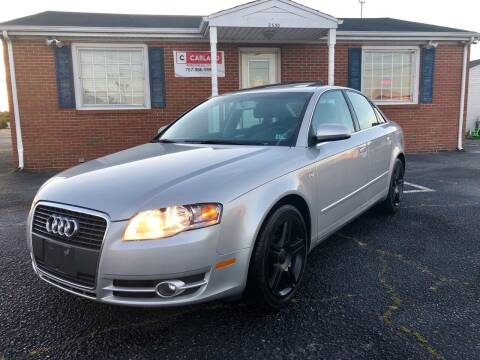 2007 Audi A4 for sale at Carland Auto Sales INC. in Portsmouth VA