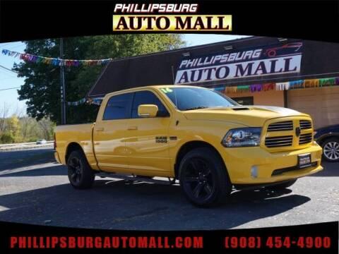 2016 RAM Ram Pickup 1500 for sale at Phillipsburg Auto Mall in Phillipsburg NJ