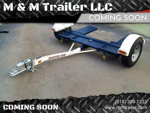 2021 Master Tow Car Dolly for sale at M & M Trailer LLC - Car Dolly in Shreveport LA