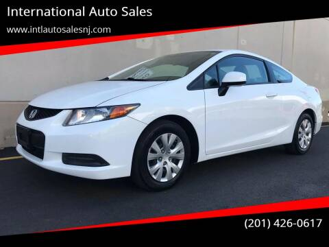 2012 Honda Civic for sale at International Auto Sales in Hasbrouck Heights NJ