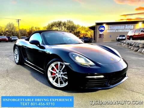 2018 Porsche 718 Boxster for sale at TJ Chapman Auto in Salt Lake City UT