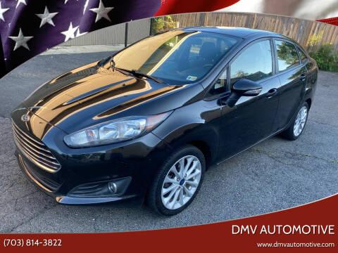 2014 Ford Fiesta for sale at DMV Automotive in Falls Church VA