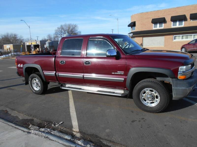 2002 Chevrolet Silverado 2500HD for sale at Creighton Auto & Body Shop in Creighton NE