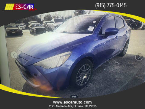 2016 Scion iA for sale at Escar Auto in El Paso TX