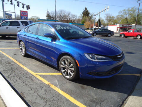 2015 Chrysler 200 for sale at Tom Cater Auto Sales in Toledo OH