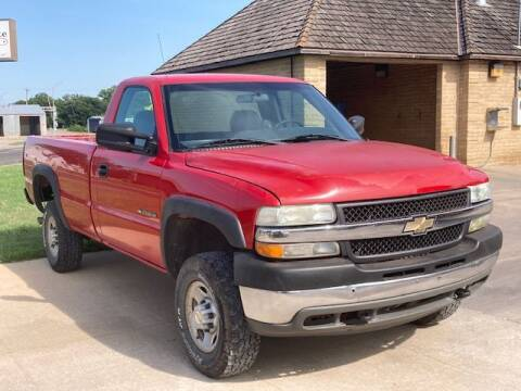 2002 Chevrolet Silverado 2500HD for sale at Rolling Wheels LLC in Hesston KS