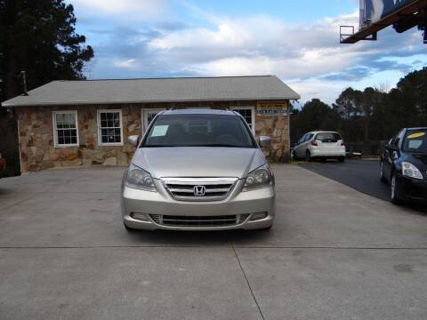 2006 Honda Odyssey for sale at Flywheel Auto Sales Inc in Woodstock GA