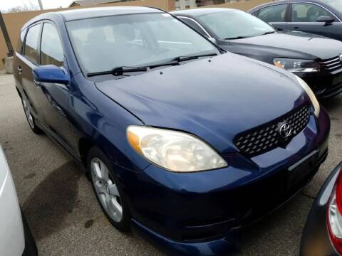 2003 Toyota Matrix for sale at Glory Auto Sales LTD in Reynoldsburg OH