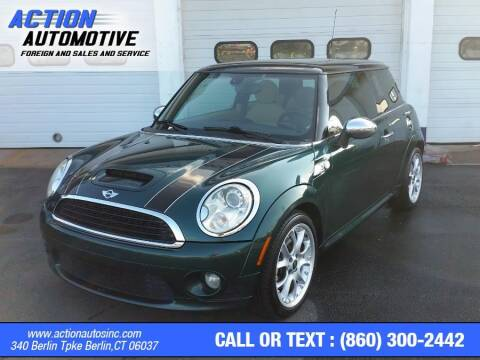 2009 MINI Cooper for sale at Action Automotive Inc in Berlin CT