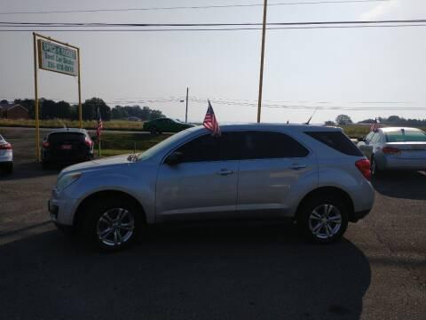 2011 Chevrolet Equinox for sale at Space & Rocket Auto Sales in Meridianville AL