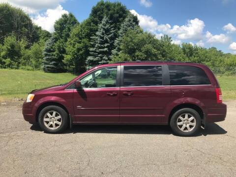 2008 Chrysler Town and Country for sale at J & S Motors in Chardon OH